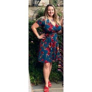 Kaileigh Floral Wrap Dress